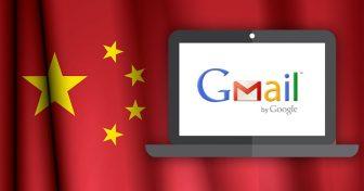 Gmailin käyttäminen Kiinassa